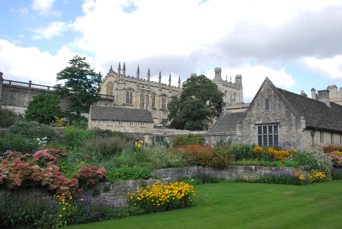 Christ Church Garden Oxford