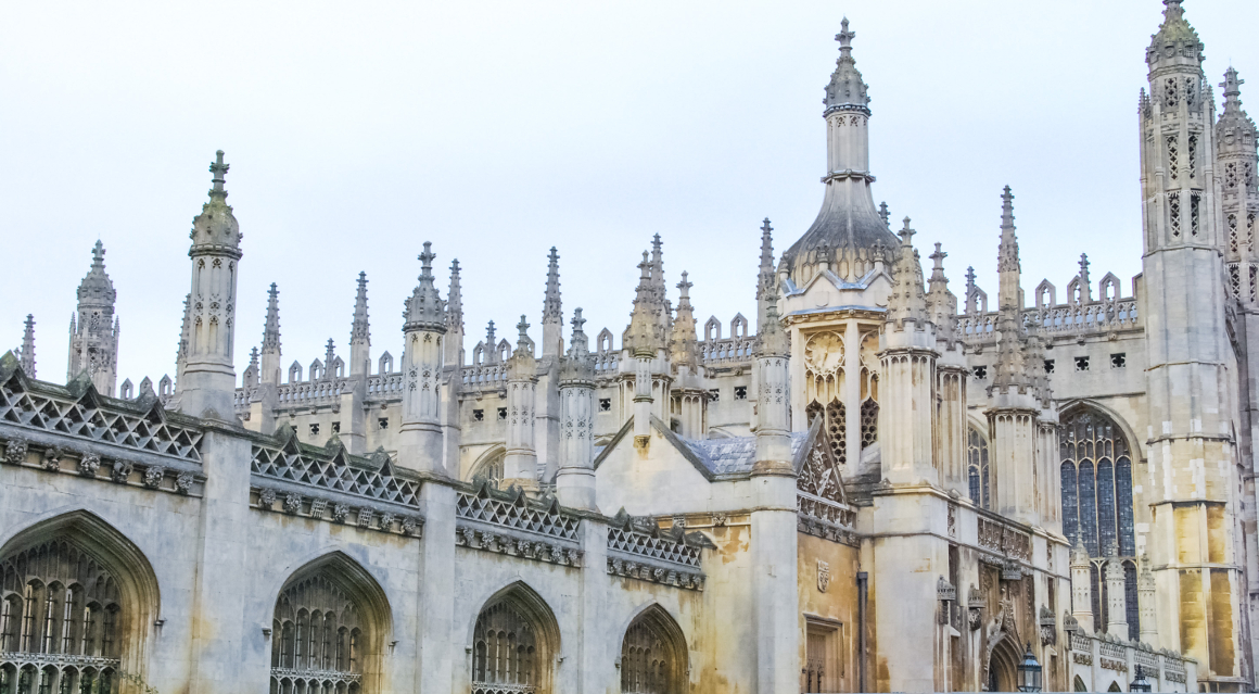 King's College Cambridge Skyline