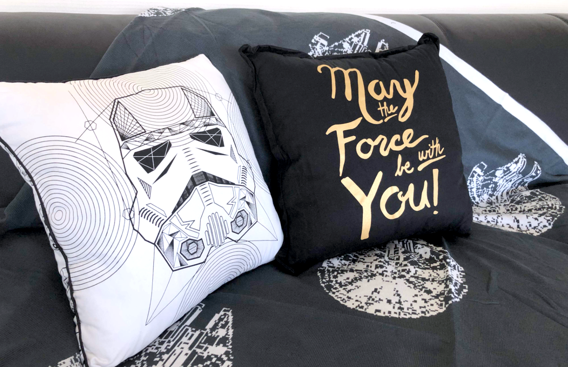 Star Wars Kissen & Decken