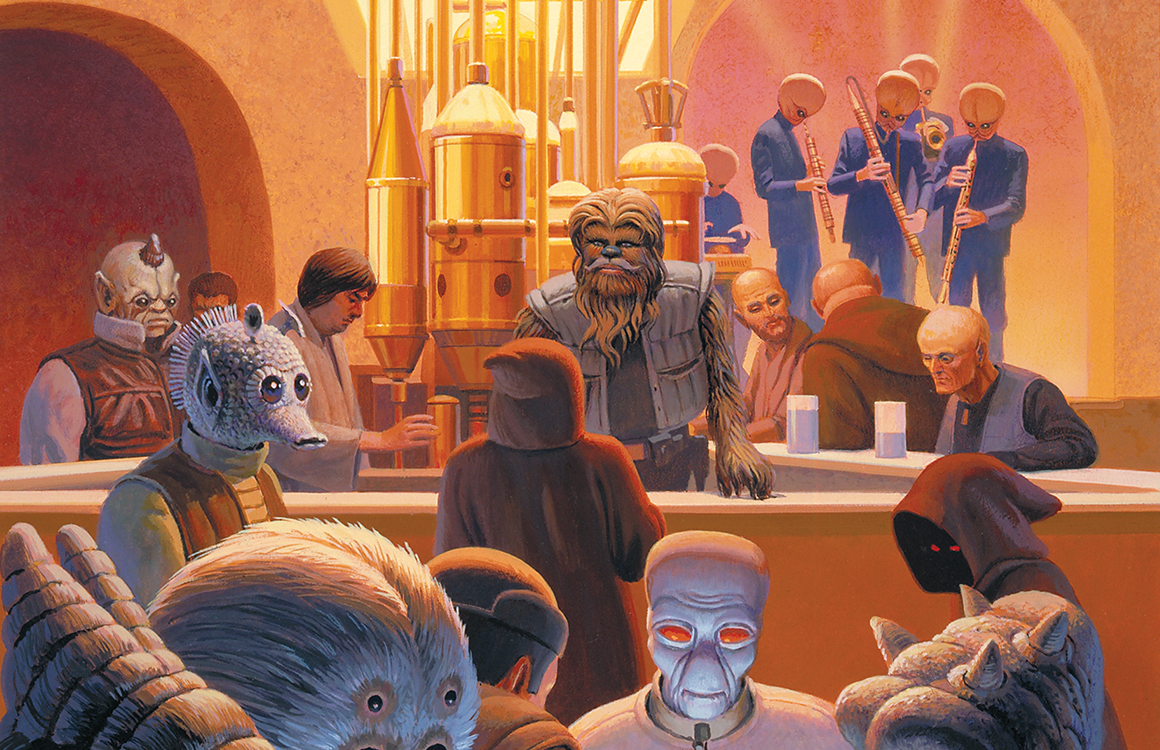 Star Wars Party wie in der Cantina
